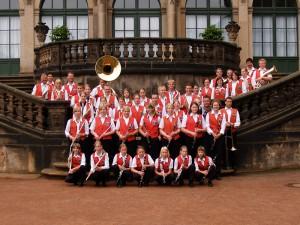 Die Lustigen Musikanten im Zwinger in Dresden, 2005